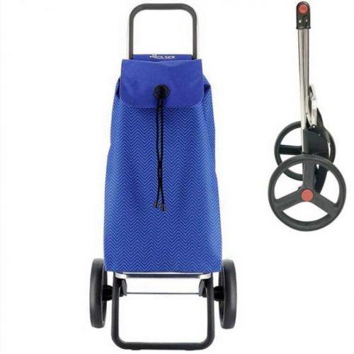 chariot course rolser bleu