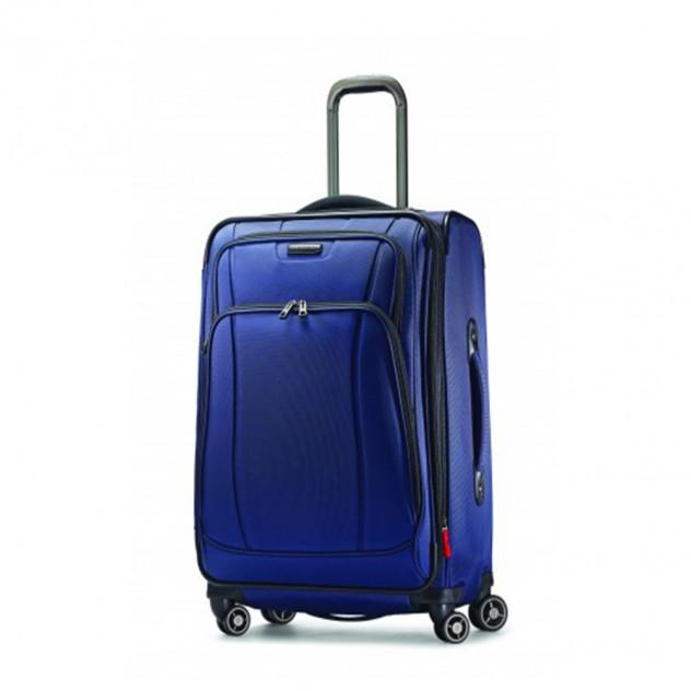 valise samsonite bleue