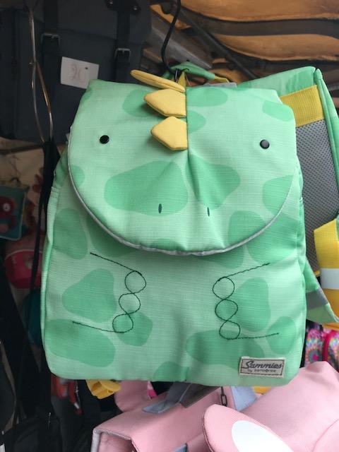 sac à dos pour enfant bruxelles animal vert