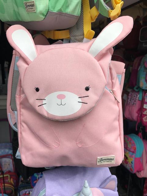 sac enfant bruxelle lapin rose