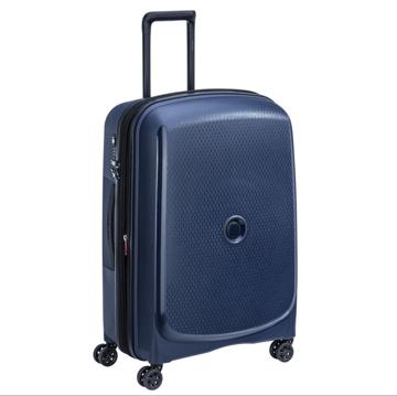 promo valise bleu delsey